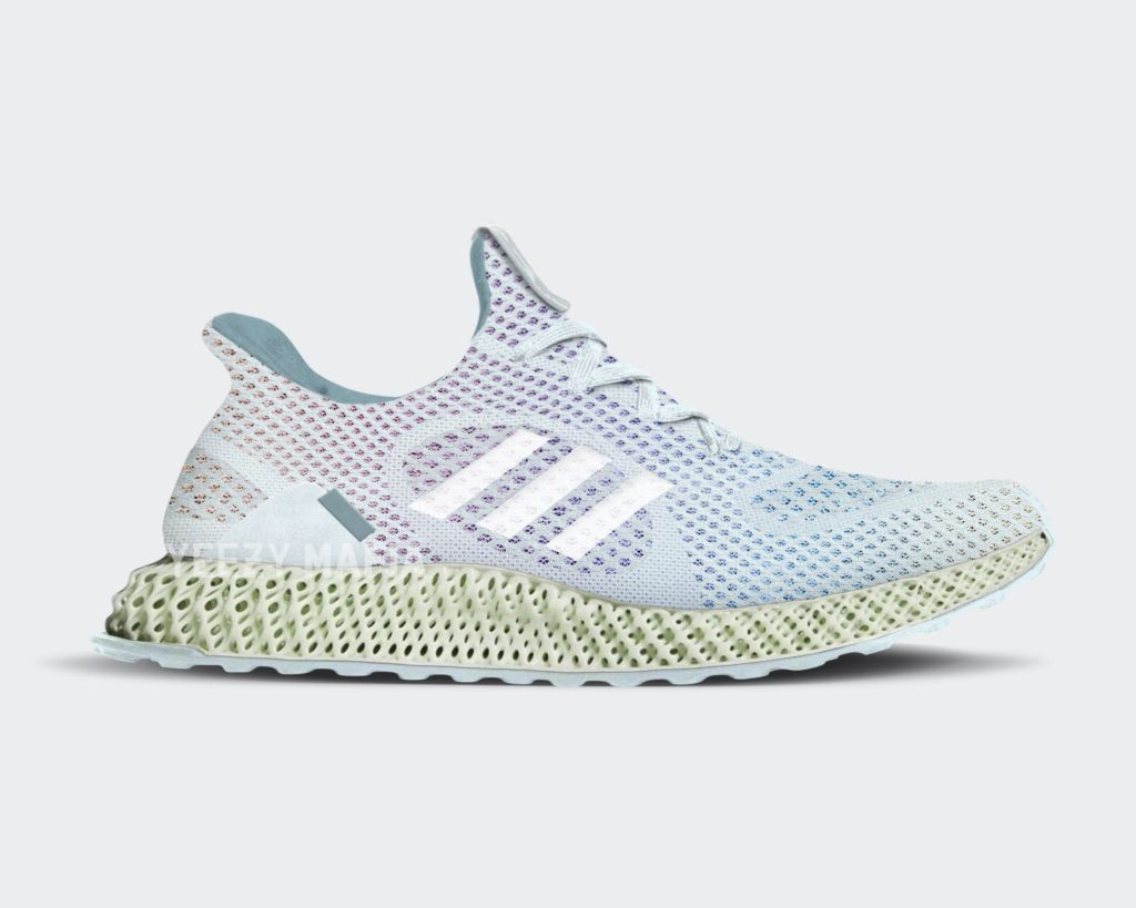 adidas futurecraft 4d blue tint